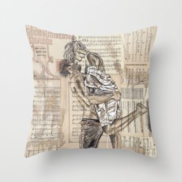 Good Morning Dearie Throw Pillow