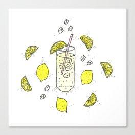Lemon Lemon Lemon Canvas Print