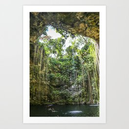 Cenote, Mexico Art Print
