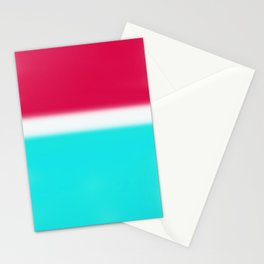 Red White & Tie Dye Stationery Cards