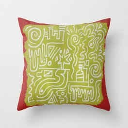 Swipe Throw Pillow