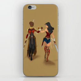 Heroines Unite iPhone Skin