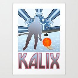 Kalix Winter Art Print