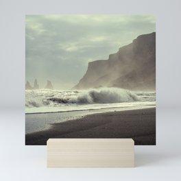Beach Art Print, Ocean, Coastal, Beach House Decor, Beach Waves Art Print, Coastal Wall Art, Ocean Waves Poster, Summer Decor, Beach Print Mini Art Print