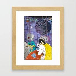 Space Ghost Coast to Coast Framed Art Print