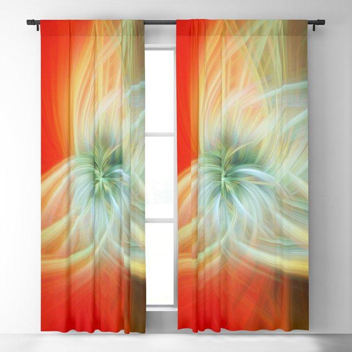 Energy Blossom Blackout Curtain