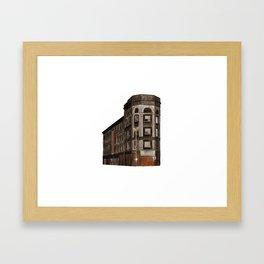 RODIER BUILDING Framed Art Print