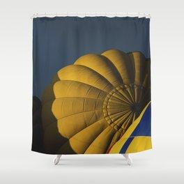 """""""Golden Hills"""" Shower Curtain"""