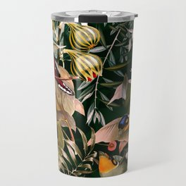 Floral and Birds XXV Travel Mug