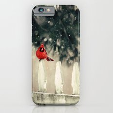 Snowy Day Cardinal iPhone 6s Slim Case
