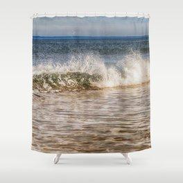 Beach Wave Shower Curtain
