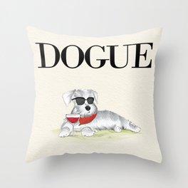 Dogue Throw Pillow