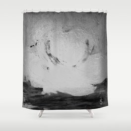 Abstract in Nature Shadows Shower Curtain
