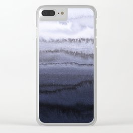 WITHIN THE TIDES BLUE Clear iPhone Case
