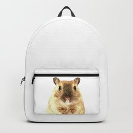 Hamster Portrait Backpack
