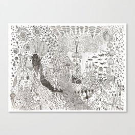 The Party Shuffle  Canvas Print