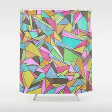 Pinata Party Shower Curtain