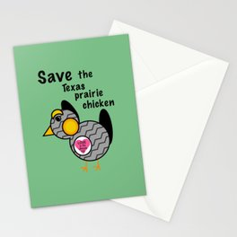 The Monkees - Save the Texas Prairie Chicken Stationery Cards