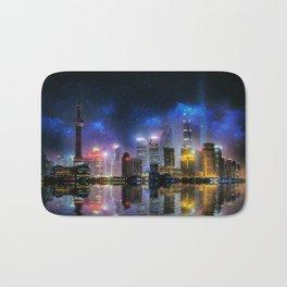 Shanghai Skyline Bath Mat