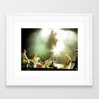 u2 Framed Art Prints featuring Four U2 by Samiah Al-Huthaili