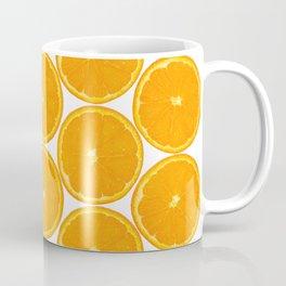 Orange Fruit Pattern Coffee Mug