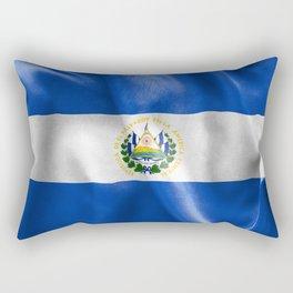 El Salvador Flag Rectangular Pillow