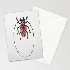 Beetle Watercolor I Stationery Cards