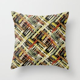 Tribal Abstracts 3 Throw Pillow