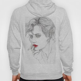GIRL With The CIGARETTE Hoody