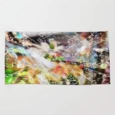 Telemetry Beach Towel
