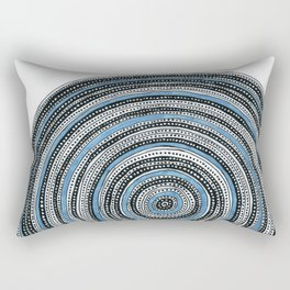 Dotty mandala Rectangular Pillow