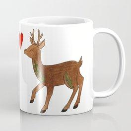 Deer in Love Coffee Mug