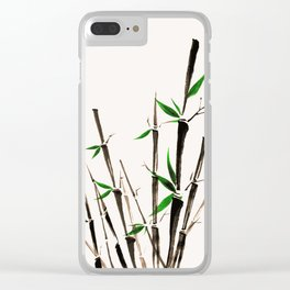 Bamboo Clear iPhone Case