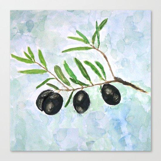 Olive 2 Canvas Print