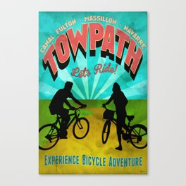 Canal Fulton Massillon Navarre Towpath Bicycle Adventure Canvas Print