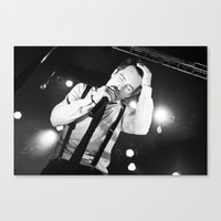 panic at the disco Canvas Prints featuring Panic At The Disco - Brendon Urie by Lights & Sounds Photography