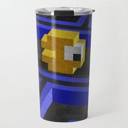 Pac-Man's dilemma Travel Mug
