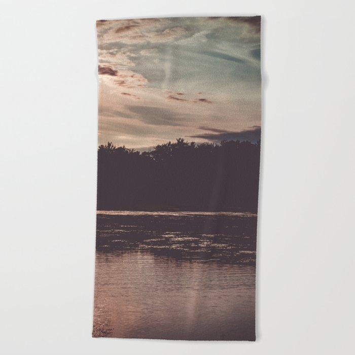 Long Nights Beach Towel