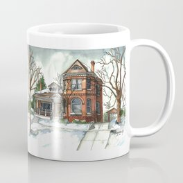 Victorian House in The Avenues Coffee Mug