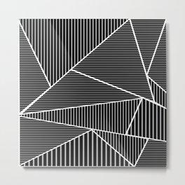 Try Stripe Metal Print