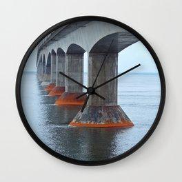 Under the Bridge in PEI Wall Clock