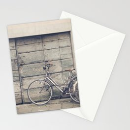 bikes in lucca  Tuscany Italy Stationery Cards