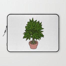 Blushing Cannabis Laptop Sleeve