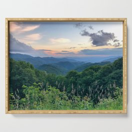 Blue Ridge Parkway 3 Serving Tray