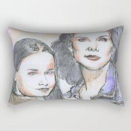 Lorelai & Rory Rectangular Pillow