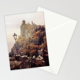 One sunny morning in San Marino Stationery Cards