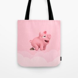 Rosa POOP pink Tote Bag