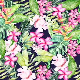 Art Print - Tropical Garden - Wheimay
