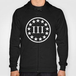 3 Percenter Banner Patch Hoody