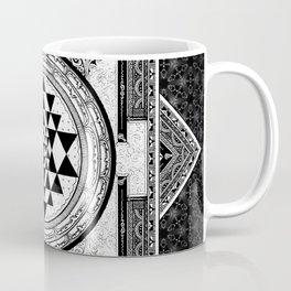 Mandala Sri Yantra Spiritual Zen Indian Bohemian Yoga Mantra Meditation Coffee Mug